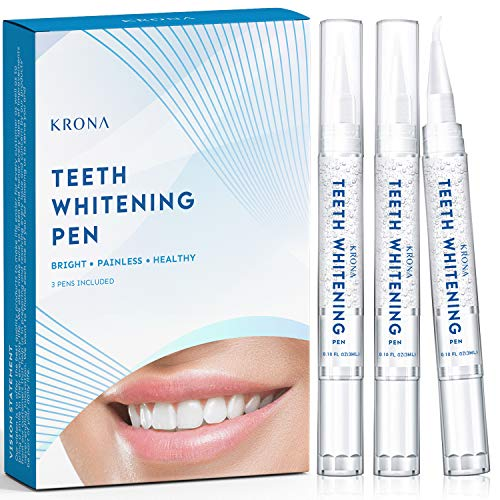 Teeth Whitening Pen, 20+ Uses, Effective, Painless, No Sensitivity, Travel-Friendly, Easy to Use, Beautiful White Smile, Natural Mint Flavor