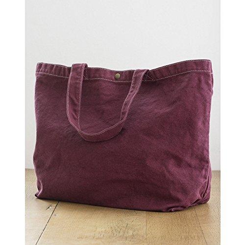 Bags - Sac de courses en toile JASSZ (Taille unique) (Vin)
