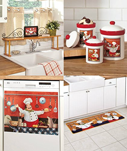 PERSONALIZED FAT CHEF KITCHEN MAGNET