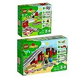 Lego Duplo 2er Set 10882 10872 Eisenbahn Schienen