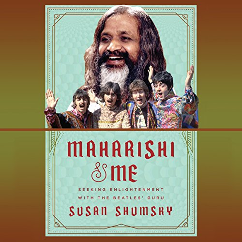 Maharishi & Me audiobook cover art