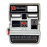 PinMart Vintage Polaroid Camera Photograhy Trendy Enamel Lapel Pin