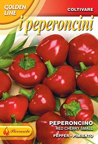 Franchi Sementi di Italia Peperoncino Piccolo Rosso Ciliegia Piccante Calabrese Semi