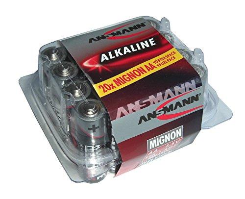 Batterie Ansmann Alkaline Mignon LR 06 1,5 V, 1 x = 1 Box mit 20 Stück! 2029091700