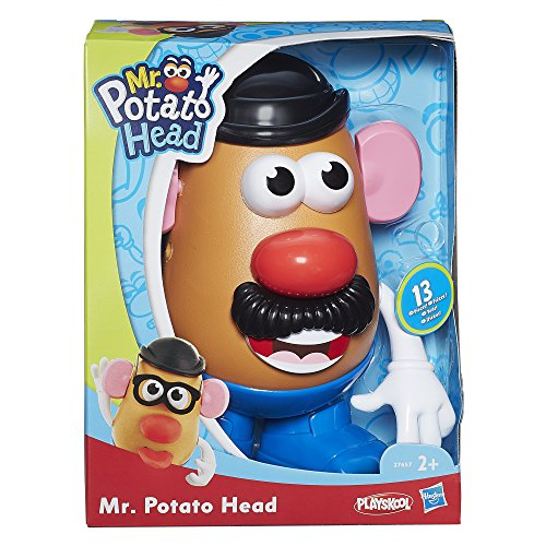 Play Doh Mr. Potato PLA MPH Mr. Potato clásico, única (Hasbro 27657)