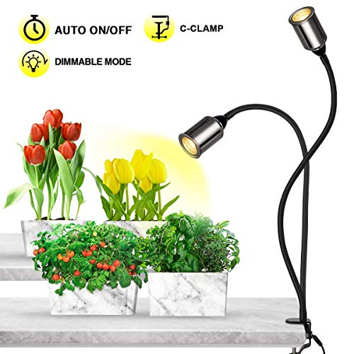 Bozily Grow Lights for Indoor Plants,Full Spectrum with Timer-75W COB CREE...