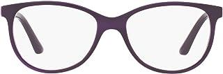 نظارات Vogue Eyewear النسائية VO5030 ذات الوصفات المستطيلة للنظارات، عدسات شفافة/بنفسجية شفافة، 51 مم