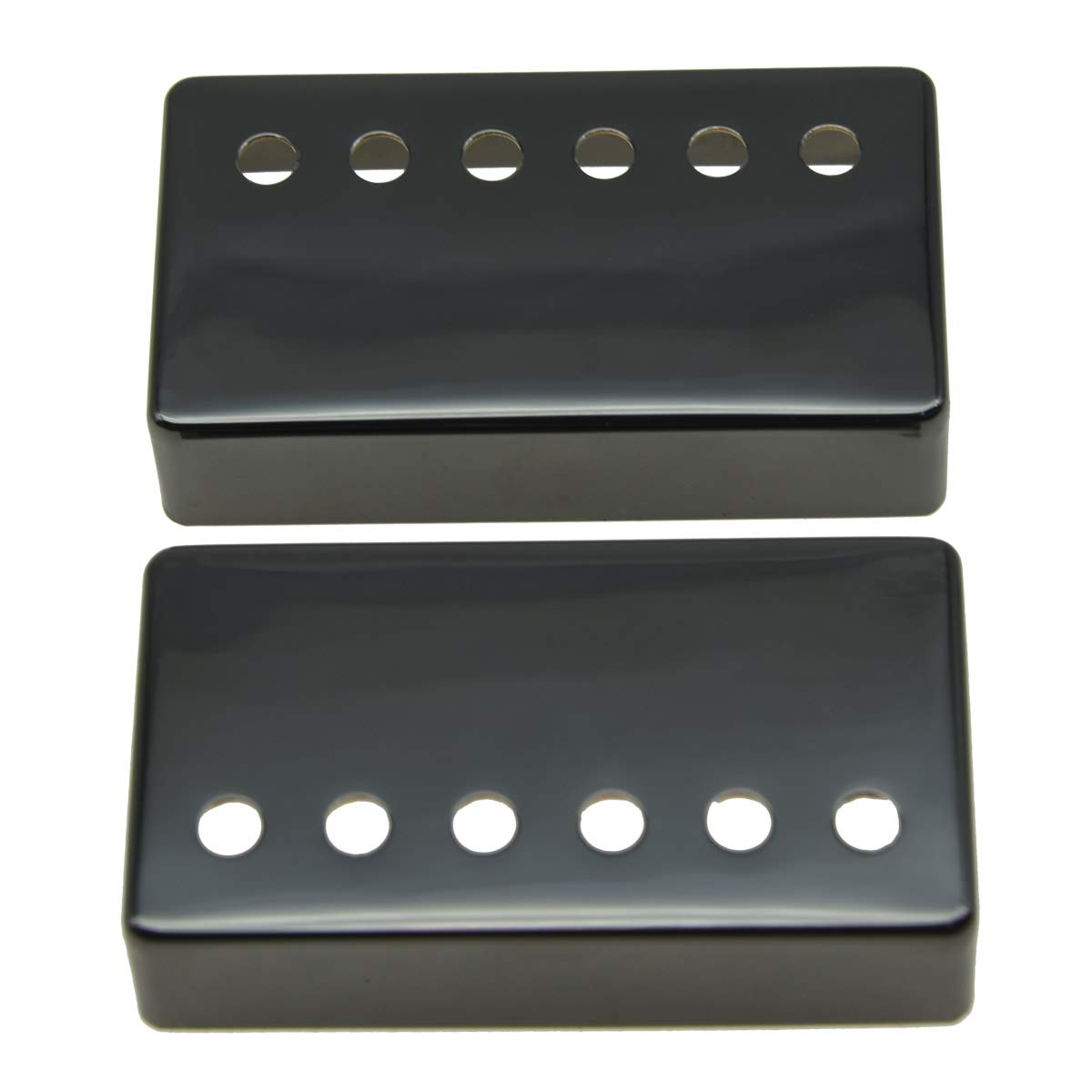 ships from USA 12-Hole Chrome Humbucker Guitar Pickup Cover 52mm Spacing