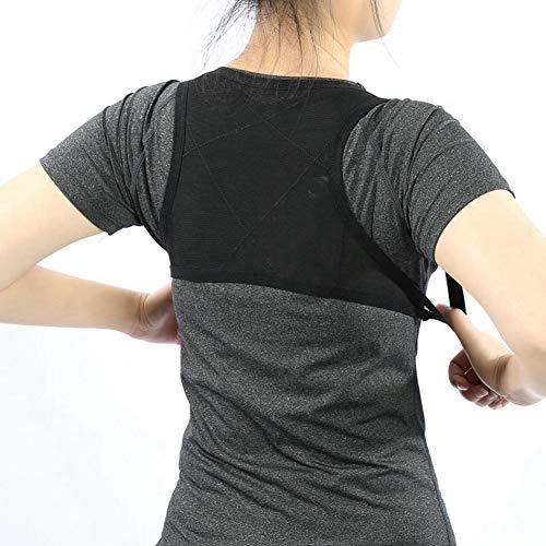 Atmungsaktive Körperhaltung Korrektor Rücken Gürtel Unterstützung Wirbelsäule Orthopädische Bandage Gesundheit Schönheit Schulterstützkorsett