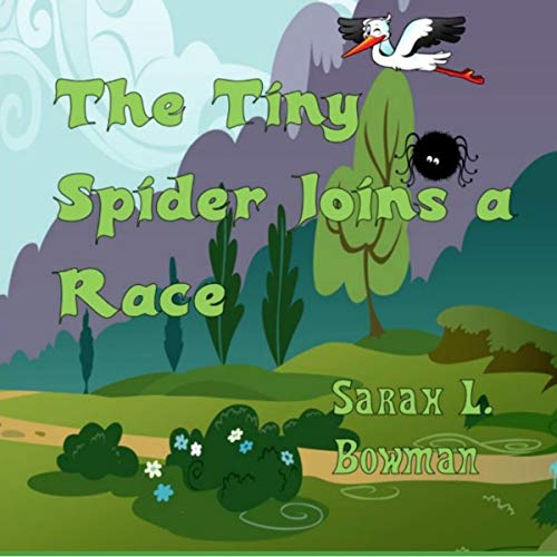 The Tiny Spider Joins a Race audiobook cover art