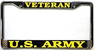 Mitchell Proffitt US Army Veteran License Plate Frame