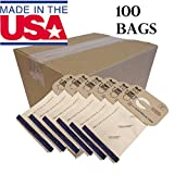 100 DVC Canister Style C Vacuum Cleaner Bags Designed to Fit Electrolux and Aerus
