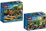 Lego City 60157giungla di starter set City 60156Buggy di giungla