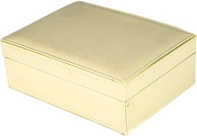 tapidecor Caja Piel Rectangular Beige con Tapa 18X13X7: Amazon.es ...