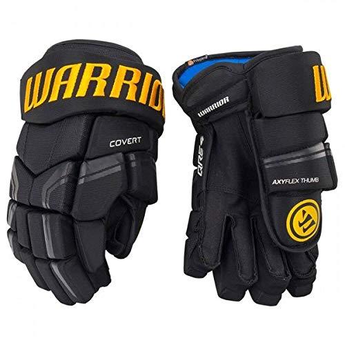 Warrior Covert QRE4 Handschuhe Senior, Größe:15 Zoll, Farbe:schwarz/Gold