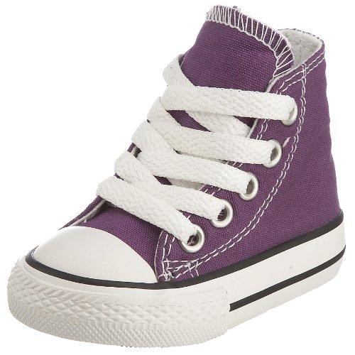 Converse Chuck Taylor All Star Hi, Unisex-Kinder Sneaker, Laker Purple - Größe: 22 EU