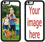 Custom iPhone X Cases iPhone Cover iZERCASE [Personalized Custom Picture CASE] Make Your Own Phone Case (Black, iPhone X)