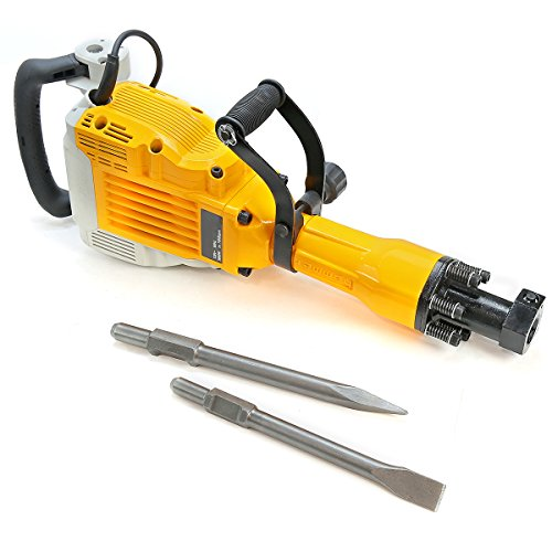 XtremepowerUS 3600Watt Heavy Duty Electric Demolition Jack Hammer Concrete Breaker Punch...