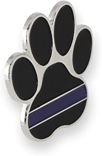 K9 Pawprint Police Lapel Pin (10 Pins)