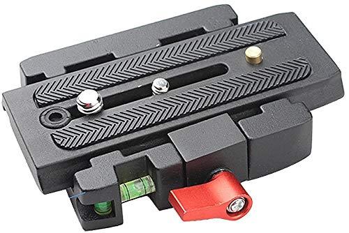 Andoer snelkoppelingsplaat snelkoppelingsplaat (met snelkoppeling, schuifplaat, voor vervanging van Manfrotto statief 577)