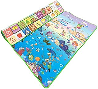 Baby Play Mat, Thicken Environment Play Mat Baby,200 * 180 * 1.5CM Cartoon Non-slip Carpet Play Mat For Baby for Bedroom L...