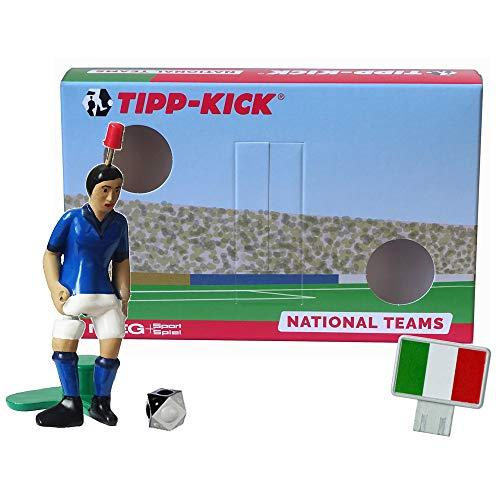 TIPP-KICK Italien-Box I Original Set Italien-Star-Kicker & Italien-Soundchip in der Torwandbox I Figur Spiel I Zubehör