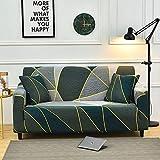 Funda de sofá elástica Moderna para sofá, Funda Protectora para sofá, Fundas para sofá, Fundas para Sala de Estar A17, 4 plazas