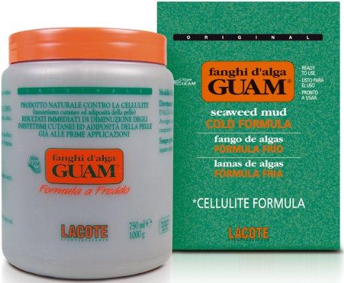 Guam Algenfango kühlende Formel 1 kg Dose bei Besenreisern und Venenproblemen für eine gesunde, schöne und straffe Haut