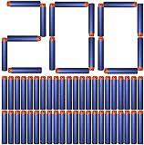 Flyglobal 200PCS Mousse Fléchette Recharge Balle de Nerf Fléchette pour Pistolet Elite Jouet Darts Refill Bullet for Toy Gun Flechette de Nerf Elite Compatible avec Le Jouet Gun Accessoire Flechette