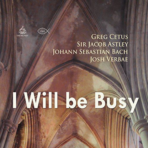 I Will Be Busy audiobook cover art
