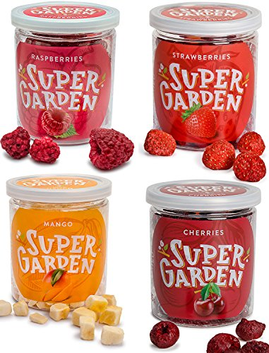 Caja de merienda de Supergarden - Frutas y Bayas Liofilizadas (Beso de verano)