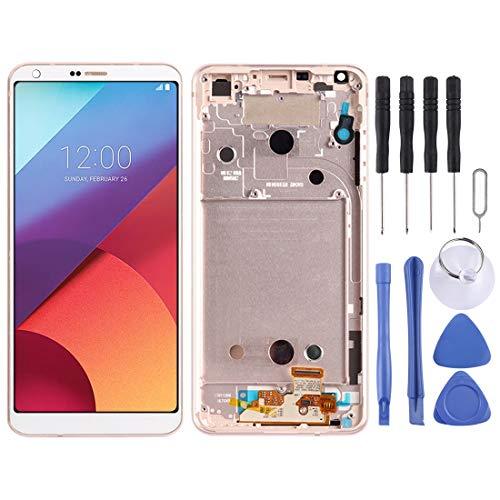 JIANGHONGYAN Piezas de reparación de teléfonos celulares Montaje Completo de Pantalla LCD y digitalizador con Marco para LG G6 / H870 / H870DS / H872 / LS993 / VS998 / US997