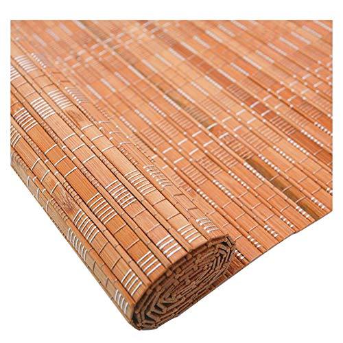 CHAXIA Rolgordijn Bamboe schaduw gordijn Rolluik Theehuis Woonkamer Partitie Achtergrond Decoratie Eenvoudige Installatie, Meerdere maten, Aanpasbaar