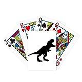 Dinosaurio Huesos Tyrannosaurus Rex Poker Jugando Magic Card Fun Juego de mesa