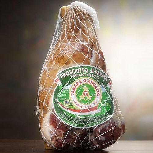 Authentic 24 Month Prosciutto di Parma DOP by Tanara - Whole Leg (15 pound)