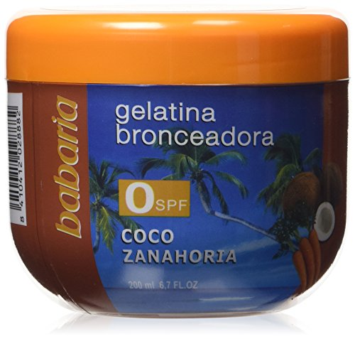 Babaria Gelatina Coco y Zanahoria SPF0 Protector Solar - 200 ml