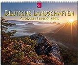DEUTSCHE LANDSCHAFTEN - German Landscapes - Original Stürtz-Kalender 2017 - Großformat-Kalender 60 x 48 cm