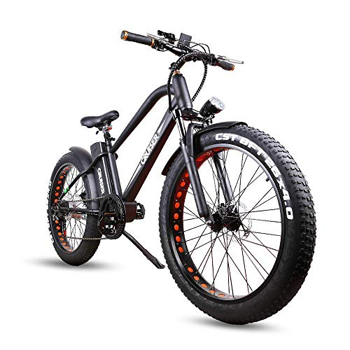 Our #2 Pick is the NAKTO Fat Tire Bicycle