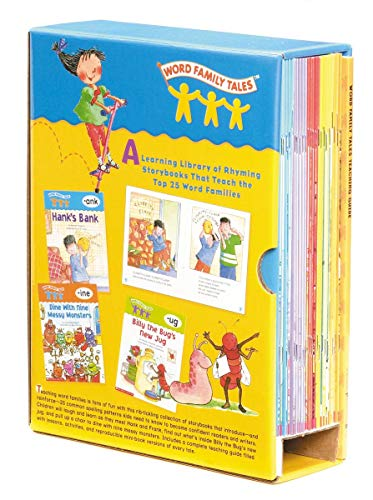scholastic book sets Word Family Tales Box Set: A Series of 25 Books and a Teaching Guide
