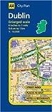 AA City Plan Dublin (Aa Atlases and Maps) - AA Publishing
