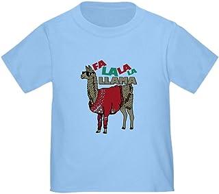 CafePress FA La La Llama Organic Cotton Baby T-Shirt