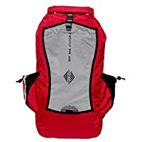 Aqua Quest Sport 25 Red Reflective Dry Bag 25L Backpack Waterproof for Trekking, Camping, Hunting, Fishing