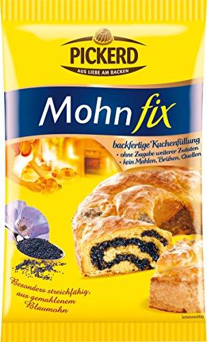 Pickerd - Mohn Fix Füllung für Kuchen - 250g
