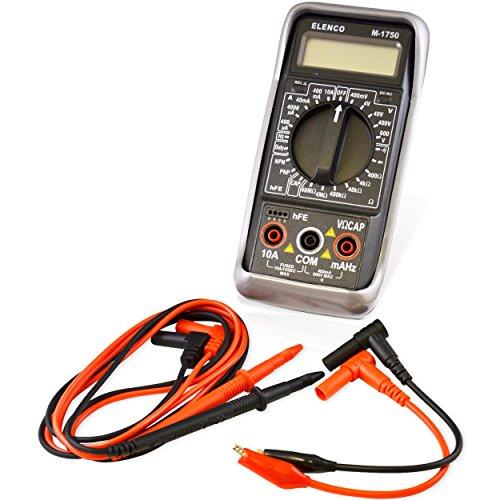 Elenco Digital Mulitmeter with 3 1/2 Digit Display