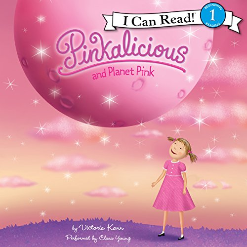 Pinkalicious and Planet Pink audiobook cover art