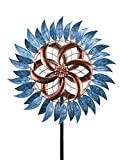 Wind Spinner 6.5 FT Wind Sculptures 360 Degrees for Patio Lawn and Garden Let You Feel Different Visual Effects and Relax Your Mood