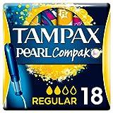 Tampax Compak Pearl Regular Tampón Con Aplicador 18 Unidades