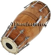 Naal Drum Mango Wood Bolt Tuned Dholak Khol Dho?L Bhajan Kirtan? Yogawooden