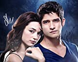 Teen Wolf MTV show Tyler Posey & Crystal Reed reprint signed autographed photo RP