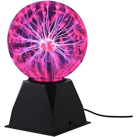 Touch Sensitive Boule de plasma Sphère lumière Boule magique pour Fêtes Décorations Accessoire Enfants Chambre à coucher Maison(6inch)